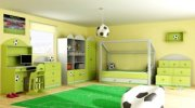 Dětský pokoj Fotbal